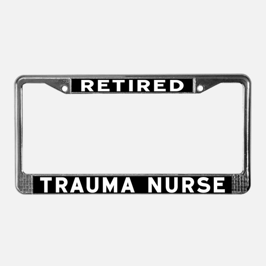 Trauma Nurse License Plate Frame