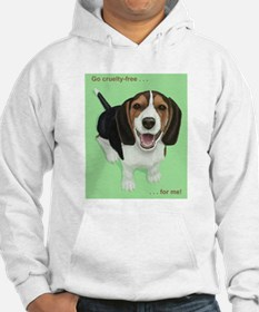 Go cruelty-free . . . for me Hoodie