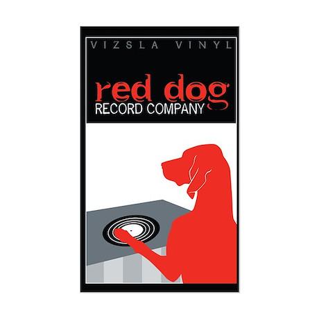 Vizsla Vinyl Sticker (Rectangle)