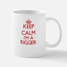 Keep calm I'm a Rigger Mugs