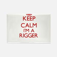 Keep calm I'm a Rigger Magnets