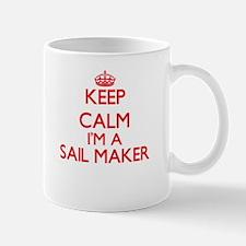 Keep calm I'm a Sail Maker Mugs
