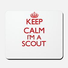 Keep calm I'm a Scout Mousepad