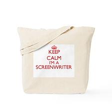 Keep calm I'm a Screenwriter Tote Bag