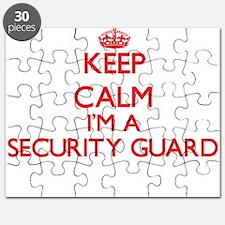 Keep calm I'm a Security Guard Puzzle