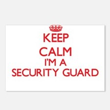 Keep calm I'm a Security Postcards (Package of 8)