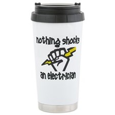 Cute Electrician funny Travel Mug