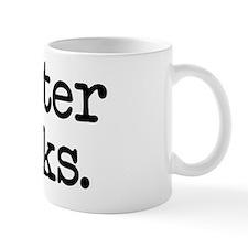 Unique Winter sucks Mug