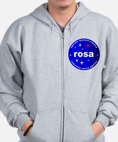 Romanian Space Agency Zip Hoodie