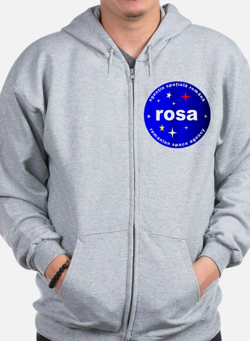 Romanian Space Agency Zipped Hoody