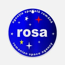 Romanian Space Agency Ornament (Round)