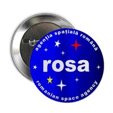 "Romanian Space Agency 2.25"" Button"