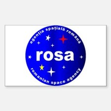 Romanian Space Agency Decal