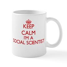 Keep calm I'm a Social Scientist Mugs