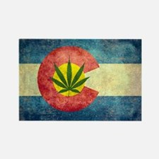 Colorado Weed Flag Magnets