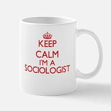 Keep calm I'm a Sociologist Mugs