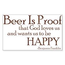 Cute Beer humor Decal