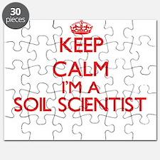 Keep calm I'm a Soil Scientist Puzzle
