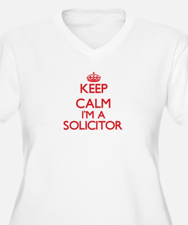 Keep calm I'm a Solicitor Plus Size T-Shirt