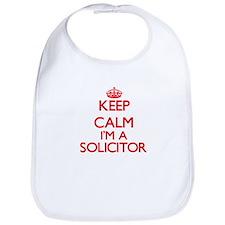 Keep calm I'm a Solicitor Bib