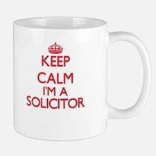 Keep calm I'm a Solicitor Mugs