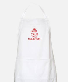 Keep calm I'm a Solicitor Apron