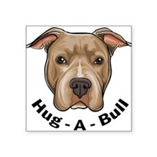 "Unique Pit bulls Square Sticker 3"" x 3"""
