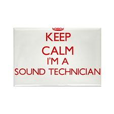 Keep calm I'm a Sound Technician Magnets