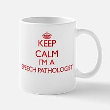 Keep calm I'm a Speech Pathologist Mugs