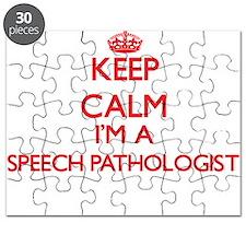 Keep calm I'm a Speech Pathologist Puzzle