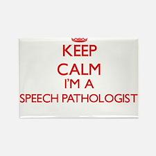 Keep calm I'm a Speech Pathologist Magnets