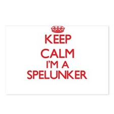 Keep calm I'm a Spelunker Postcards (Package of 8)