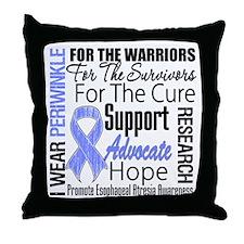 Esophageal Atresia Throw Pillow