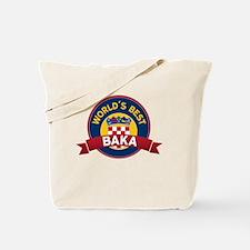 World's Best  Baka Tote Bag