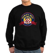 World's Best Baka Sweatshirt