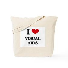 I love Visual Aids Tote Bag