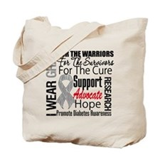 Diabetes Tote Bag