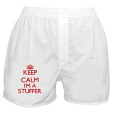Keep calm I'm a Stuffer Boxer Shorts