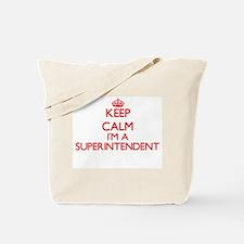 Keep calm I'm a Superintendent Tote Bag