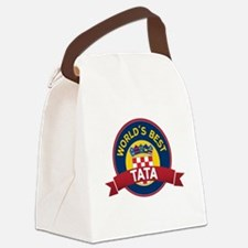World's Best Tata Canvas Lunch Bag