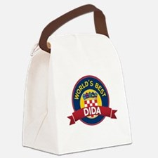 World's Best dida Canvas Lunch Bag