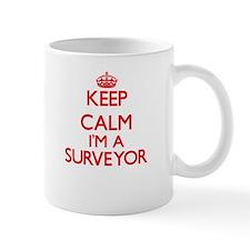 Keep calm I'm a Surveyor Mugs