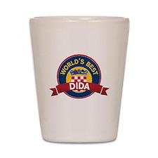 World's Best dida Shot Glass