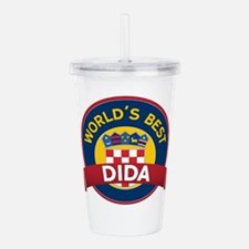 World's Best dida Acrylic Double-wall Tumbler