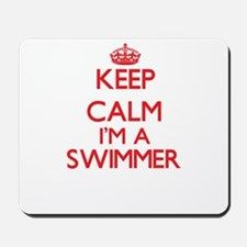 Keep calm I'm a Swimmer Mousepad