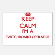 Keep calm I'm a Switchboa Postcards (Package of 8)
