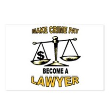 LAWYER Postcards (Package of 8)