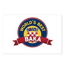 World's Best Baka Postcards (Package of 8)