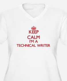 Keep calm I'm a Technical Writer Plus Size T-Shirt