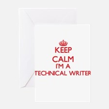 Keep calm I'm a Technical Writer Greeting Cards